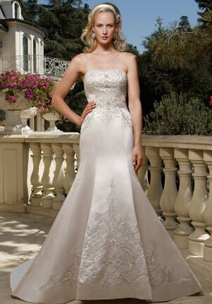 Casablanca Bridal 1985 Mermaid Wedding Dress