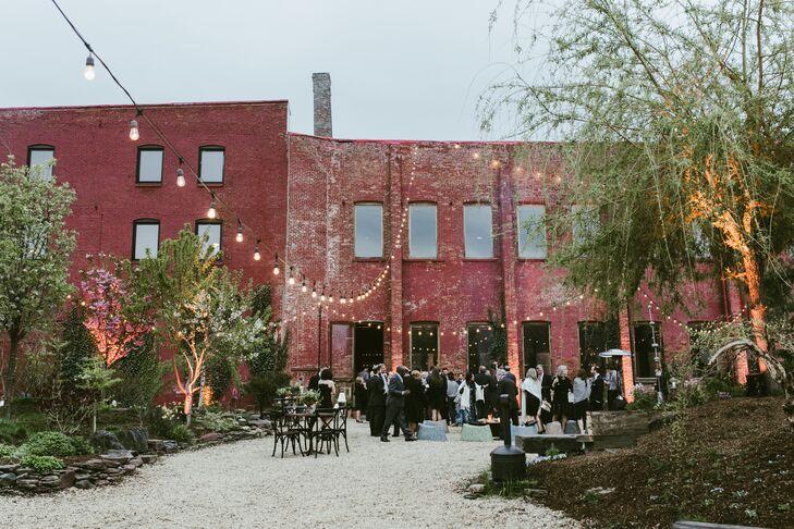 An Industrial Wedding at Pioneer Works in Brooklyn, New York