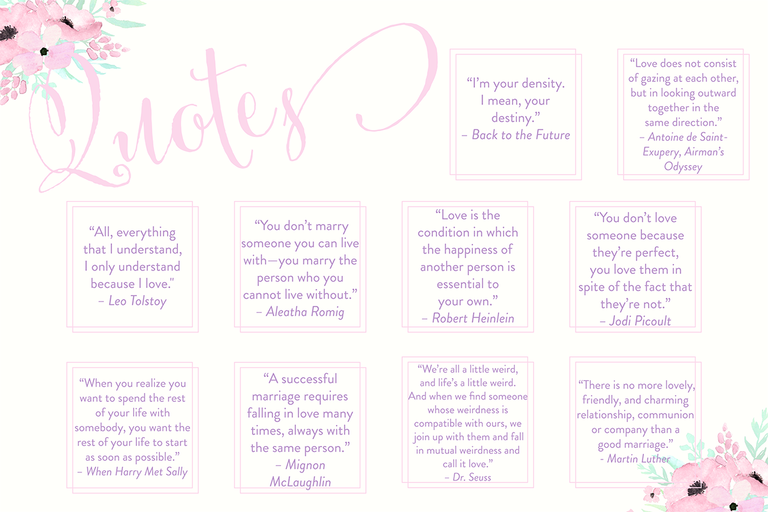 Bridal Shower Quotes For What To Write In A Card