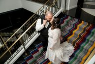 The eclectic, vintage style of Kimpton Hotel Monaco Pittsburgh inspired Marissa Catanzarite (32 and a warehouse and logistics specialist) and Brent De