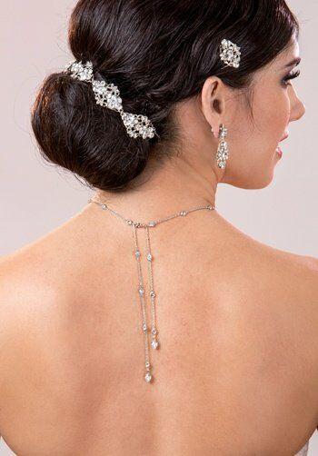 MEG Jewelry Andy necklace Wedding Necklaces photo
