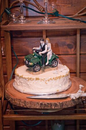 Four-wheeler Cake Topper