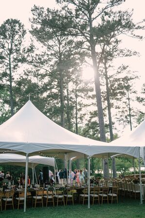 Outdoor Tented Reception at Diastole Farms