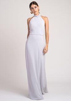 Jenny Yoo Collection (Maids) Brett Halter Bridesmaid Dress