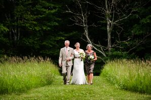 Mountain View Farm Outdoor Ceremony Processional