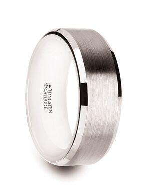 Mens Tungsten Wedding Bands W1398-WITC Tungsten Wedding Ring