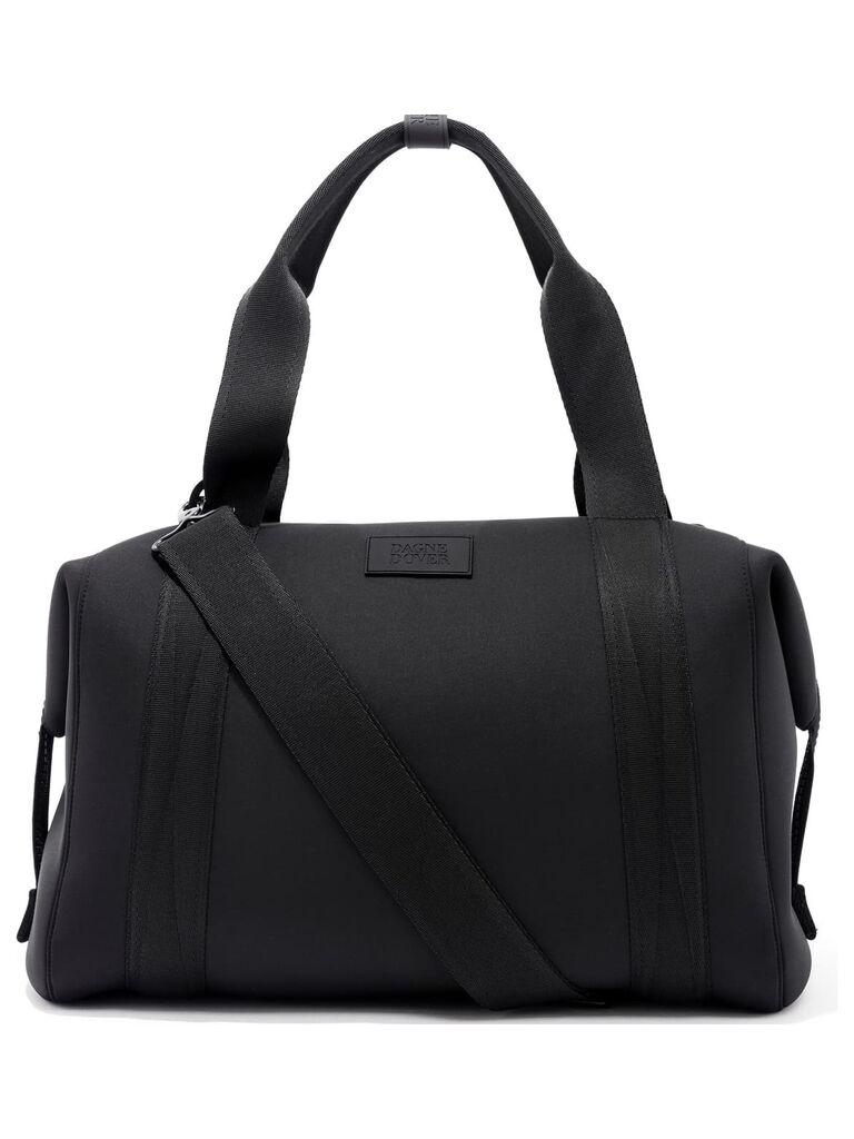 Black duffle bag 10 year anniversary gift for him