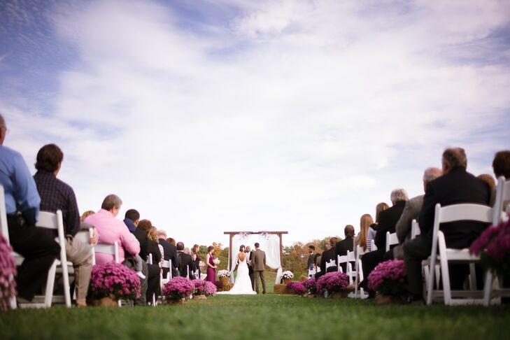 The Ceremony at the Villa Marie Winery