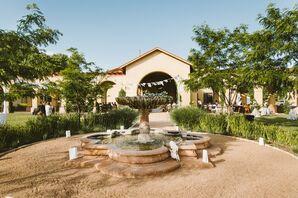 La Mesita Ranch Estate Courtyard Reception