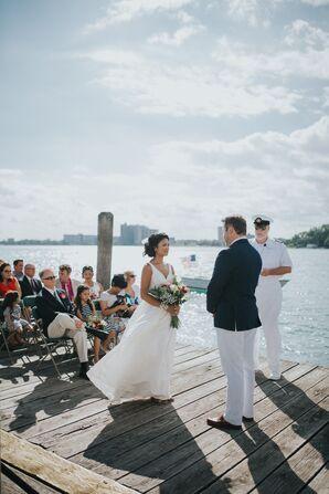 Dress Attire at Nautical-Themed Wedding