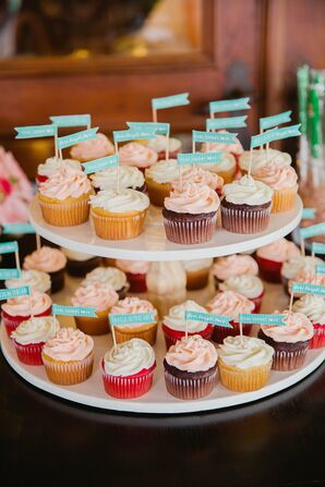 Whimsical Cupcake Display