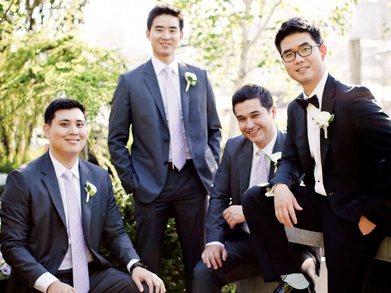Tuxedos: 4 Ways the Groom Can Stand Out - Grooms & Guys - Tuxedos ...