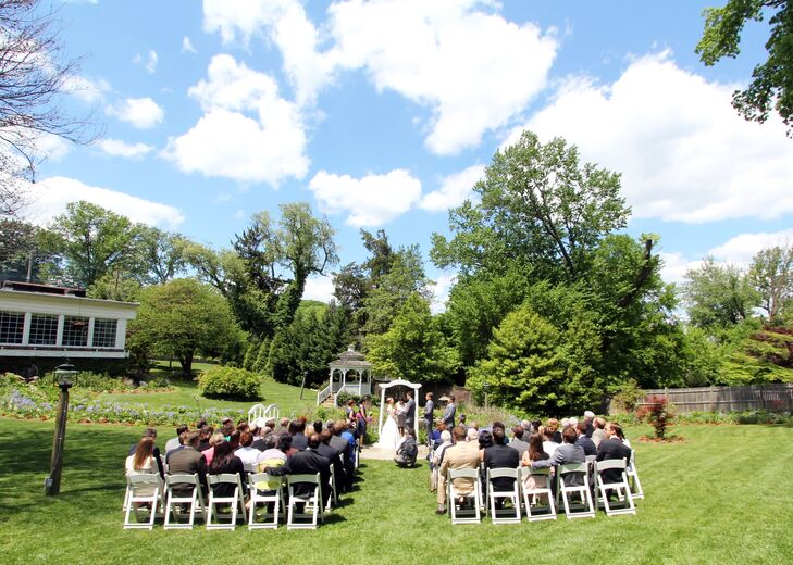 Outdoor Ceremony At Mrs K S Toll House