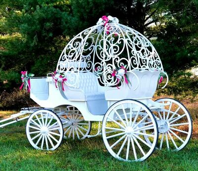 Diana's Wedding Horses