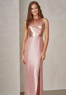 JASMINE P206012 Bateau Bridesmaid Dress