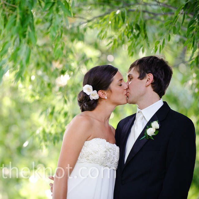 The Bride Jill Wieman, 27, an orthodontist The Groom Ted Mioduski, 29, a dentist The Date July 17  After deciding that a garden ceremony was the perfe