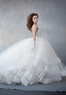 Lazaro 3608 Ball Gown Wedding Dress