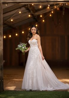Essense of Australia D2722 A-Line Wedding Dress