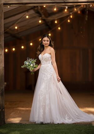 Essense of Australia D2722 A-Line Wedding Dress