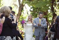 The Bride Jami Lenham, 32, an elementary school teacher  The Groom Eric Saville, 34, a landscape contractor The Date April 9  Jami and Eric created a