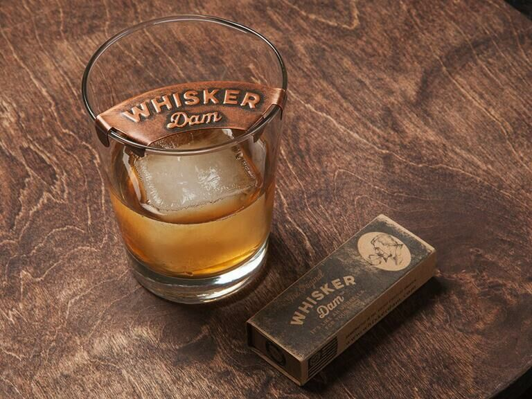 Mustache drink guard funny son-in-law gift