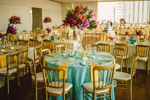 Turquoise Wedding Decorations Accents