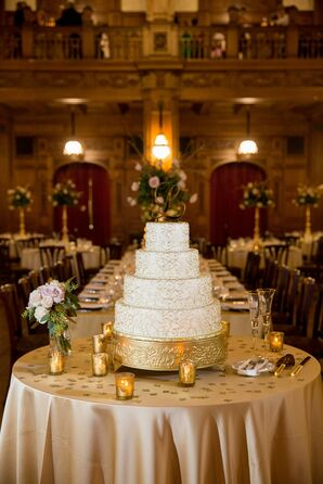 Metallic Gold Cake