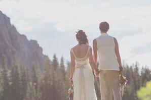 Non-Traditonal Same-Sex Wedding Dresses