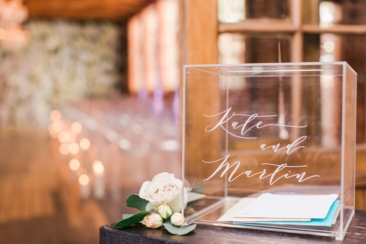 Acrylic Box for Cards and Wedding Gifts