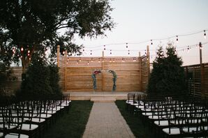 Outdoor Ceremony at The Guild in Kansas City, Missouri