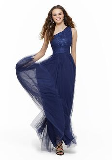 Morilee by Madeline Gardner Bridesmaids 21632 One Shoulder Bridesmaid Dress