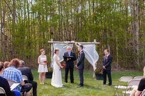 Birch Branch Ceremony Arch