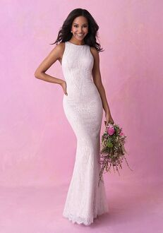 Allure Romance 3155 Sheath Wedding Dress