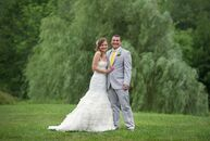 For their wedding, Jessica Koziel (30 and a school administrator) and Joe Apicella (31 and an elementary school principal) plann