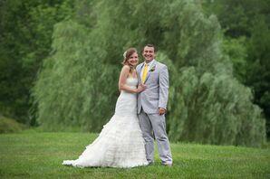 Modern Trousseau Lace Mermaid-Style Wedding Dress