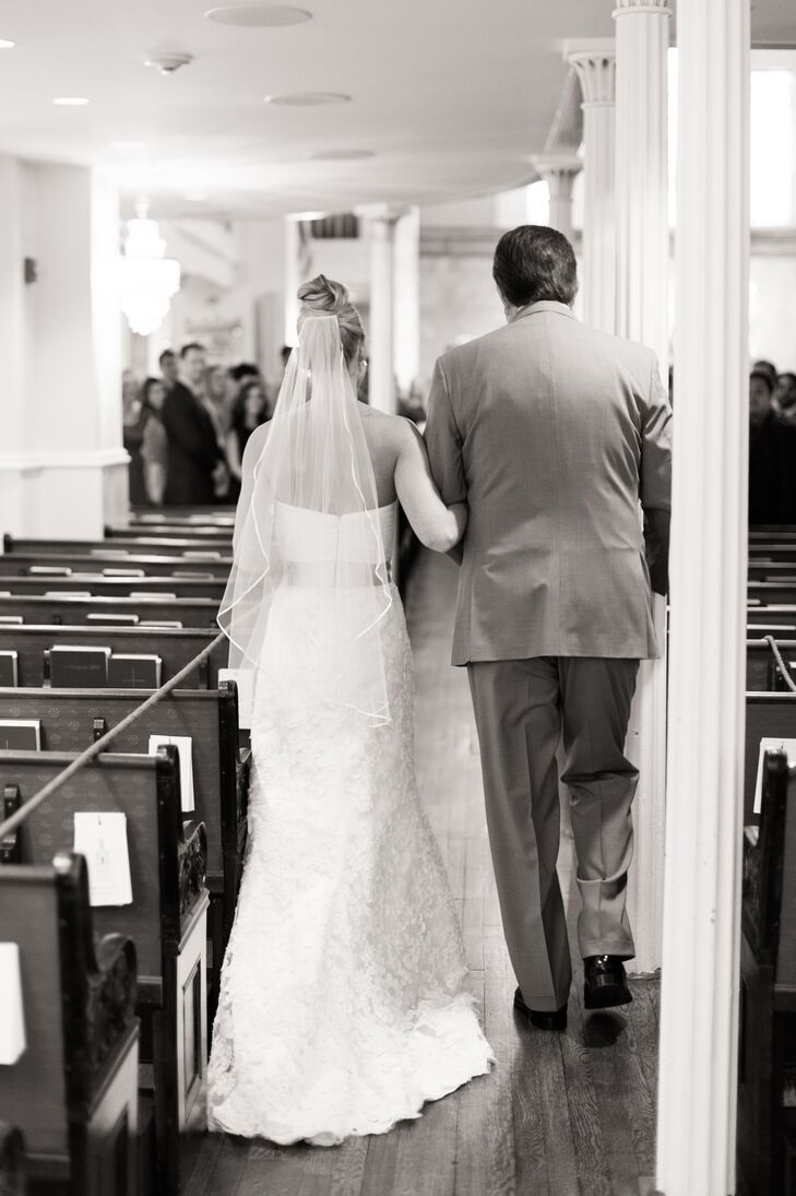 Medium-Length Bridal Veil