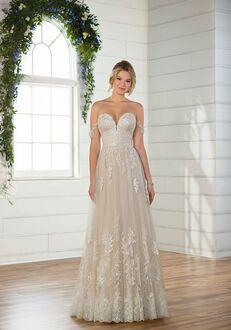 Essense of Australia D2537 A-Line Wedding Dress