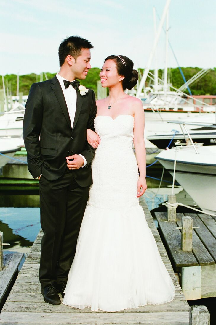 The Bride Nina Chan, 30, a manager of digital analytics The Groom Hong Pun, 30, an engineer The Date June 9  Once Nina and Hong decided on their color