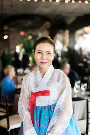 Guest Dressed in Korean Attire
