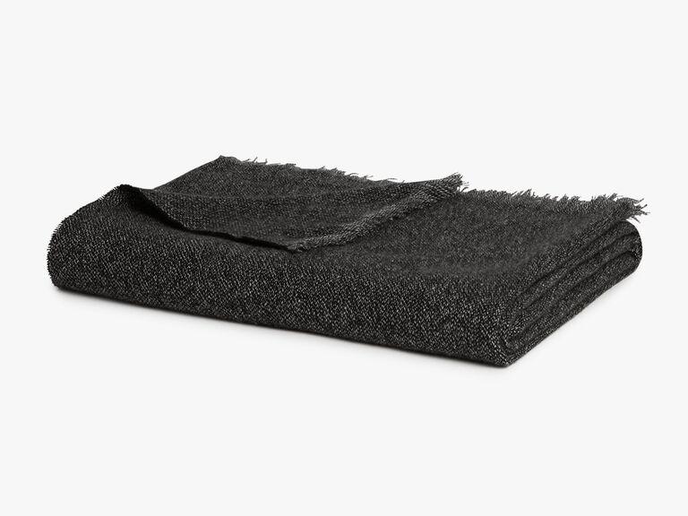 Cashmere throw blanket bridal shower gift idea