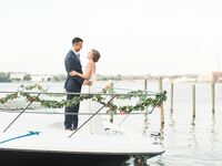 waterfront Michigan wedding