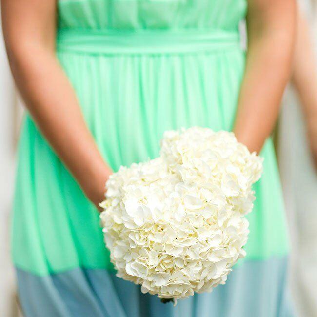 Cork Boutonniere: A Mint Chevron Wedding In Ashland, VA