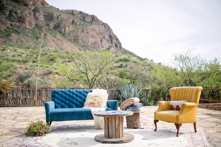 Colorful Vintage Lounge Furniture