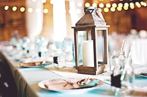 Mixed Eclectic Barn Centerpieces