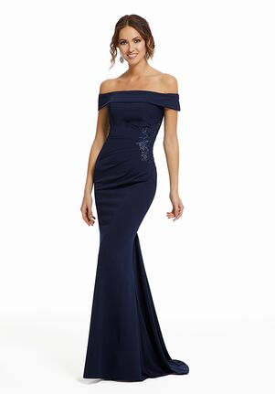 MGNY 72019 Blue Mother Of The Bride Dress