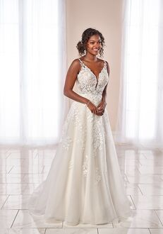 Stella York 7073 A-Line Wedding Dress
