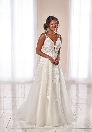 Stella York 7073 A-Line Wedding Dress