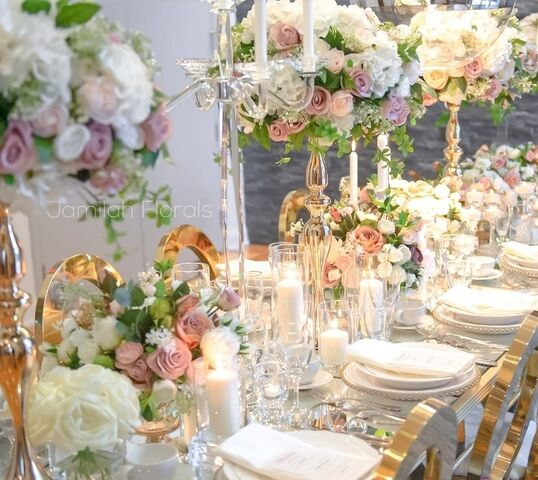 Jamilah Florals- Own The Memories, Rent The Flowers