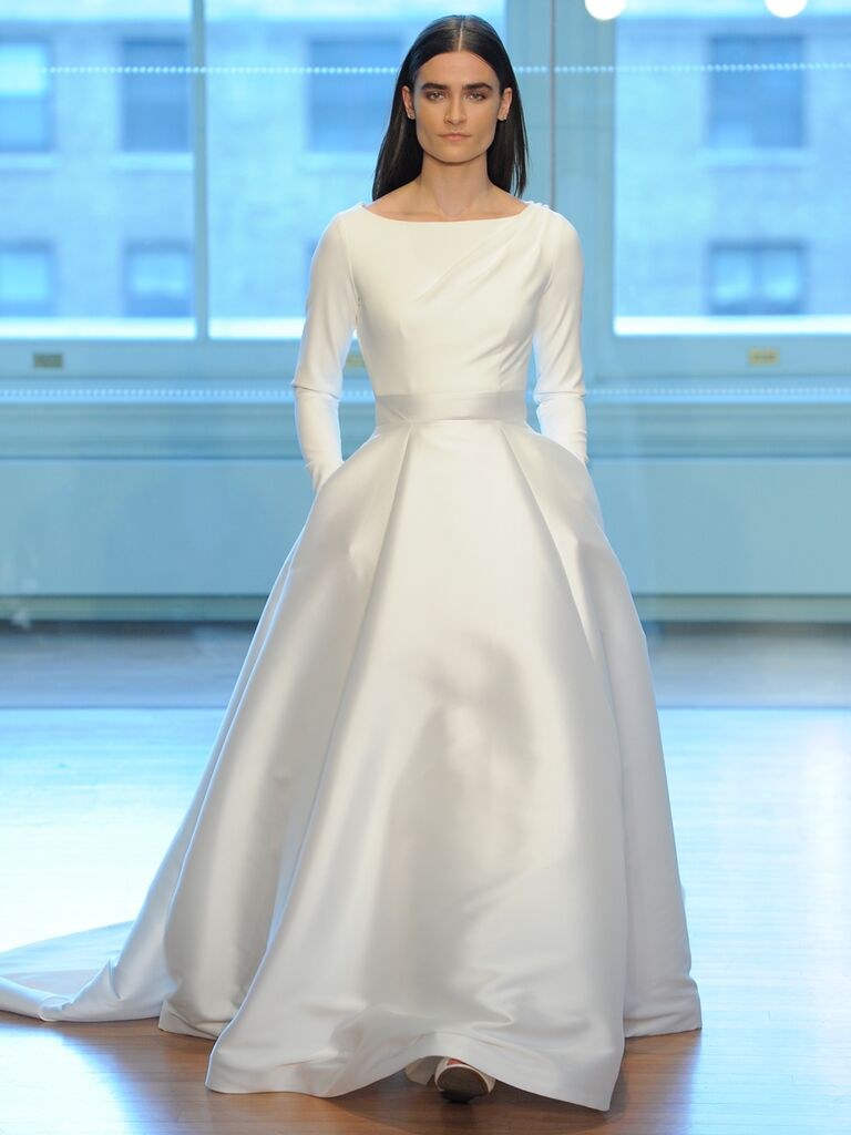 Justin Alexander Spring 2019 Collection: Bridal Fashion Week Photos
