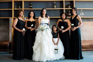 Formal Black Monique Lhuillier Bridesmaid Dresses